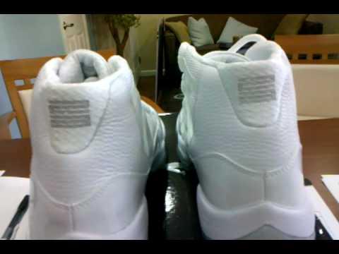 best loved 3867d bab85 Air Jordan XI silver Anniversary - YouTube
