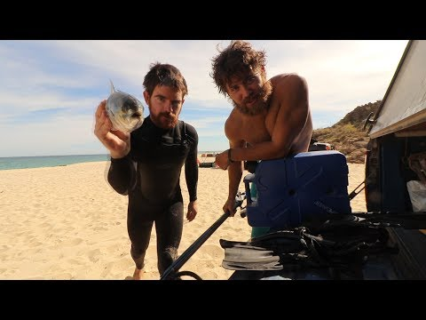SPEARFISHING for CAMP FOOD