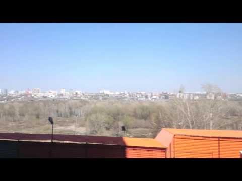 Вид с 1 этажа Квартала Панорама в Ленинском районе на ул  Немировича Данченко от Сибакадемстроя.