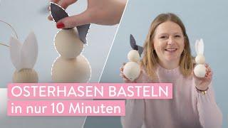 Osterhasen basteln | DIY | Westwing