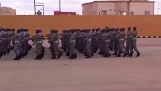 مشاة دورة حرس الحدود بعرعر 1436