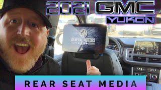 2021 GMC YUKON REAR SEAR MEDIA!