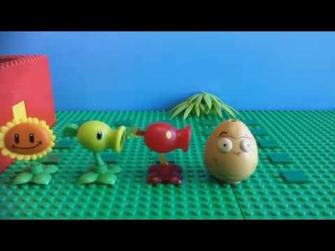 Plants vz Zombies test sprouting, Peashooters And two short skits