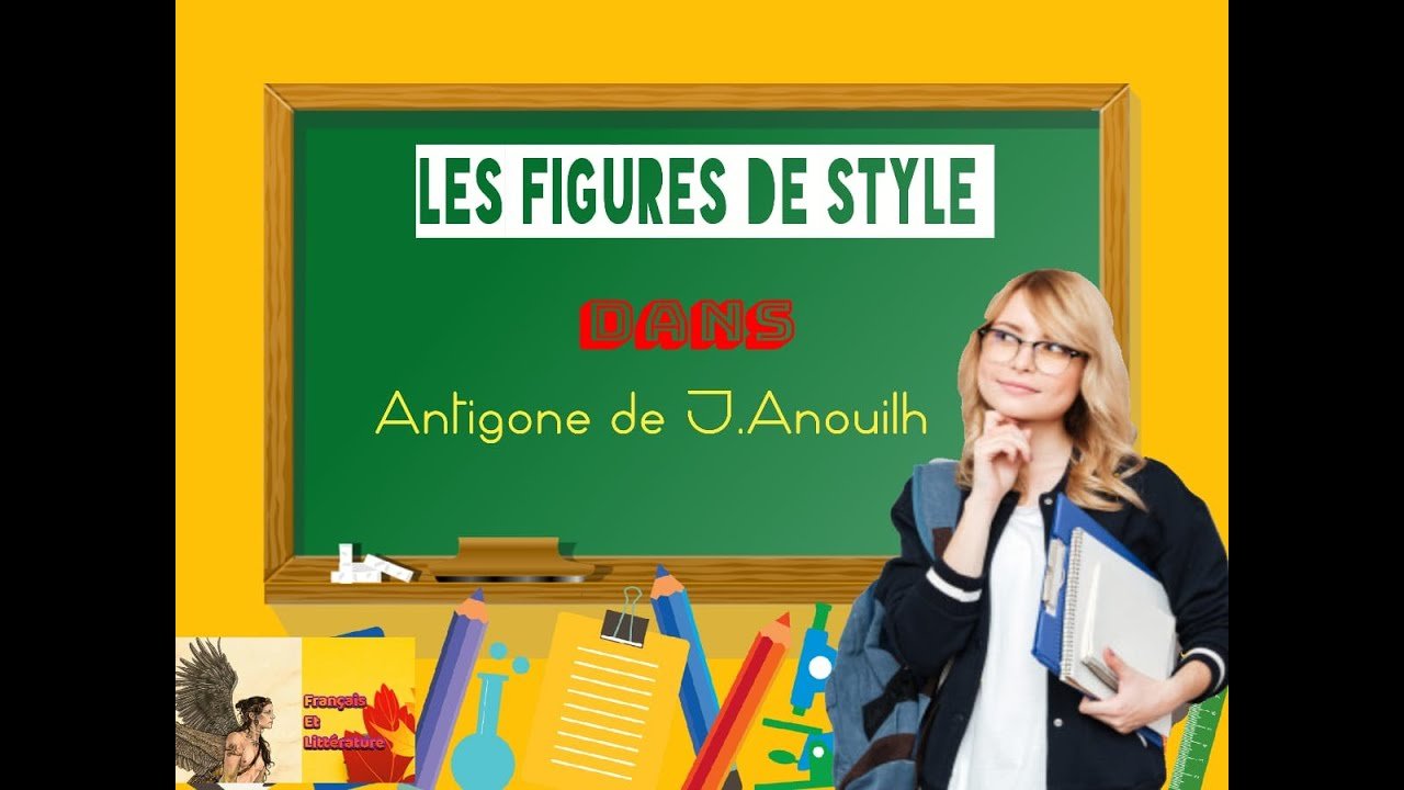 Les figures de style dans Antigone ( exercice) - YouTube