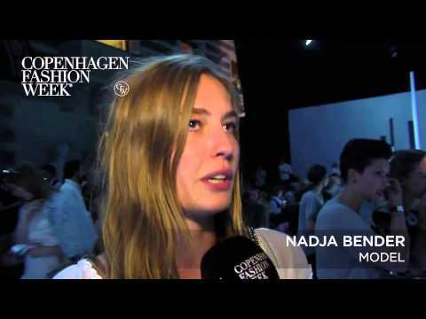 Nadja Bender, Model - Backstage Interview SS16