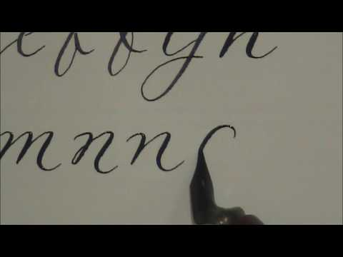 Modern Calligraphy How To Write In Calligraphy For