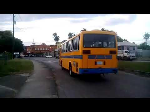 Globe Roundabout Barbados November 25th 2017