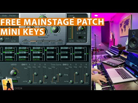 Free MainStage Worship Patch! - Mini Keys — MainStage Patches and