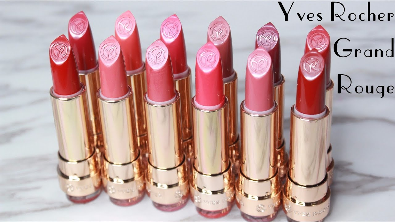 Biyw Review Chapter 43 Yves Rocher Grand Rouge Lipsticks Swatch