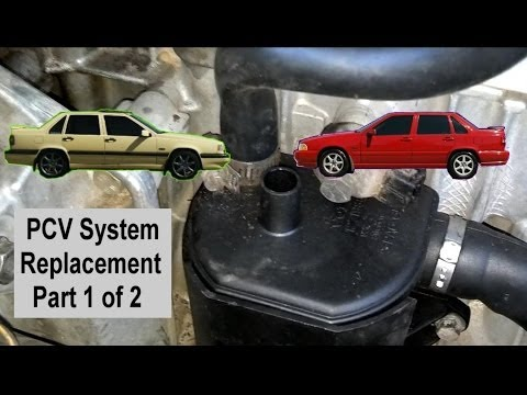 PCV system change replacement for Volvo 850, S70, V70, 1994 - 1998 Pt 1 of 2 - VOTD