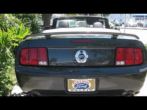 2007 Ford Mustang GT Convertible 2D - Galpin Ford