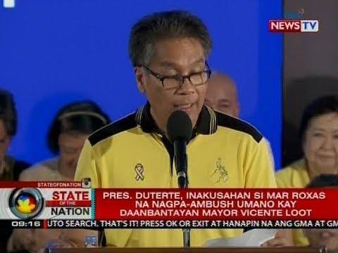 SONA: Panelo, iginiit na nagbibiro lang si Pres. Duterte sa akusasyon niya laban kay Roxas