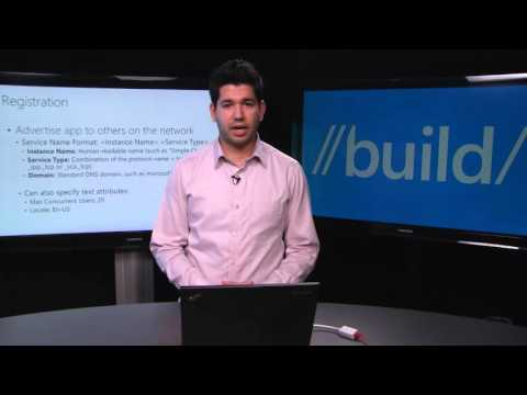 Build 2015 Discovering Windows 10 Devices Over Wi Fi DNS SD API
