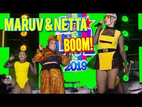 Europa Plus LIVE 2019: NETTA & MARUV – SIREN BANANA!