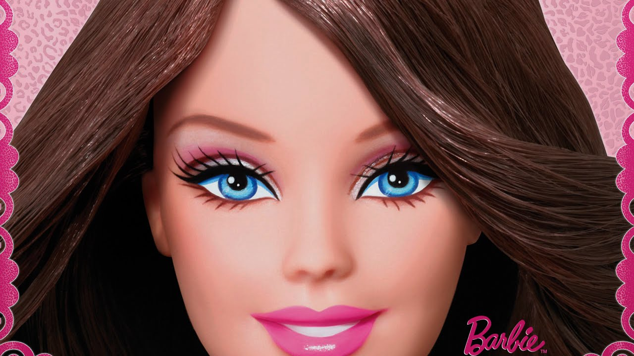 Barbie Movie Video Game - Cute Summer Hairstyle (NEW Game for Girls) - YouTube