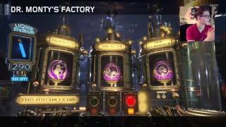 360 DAB FOR THE DOUBLE PERKAHOLIC!!! OPENING 400 LIQUID DIVINIUM! Black Ops 3 Zombies