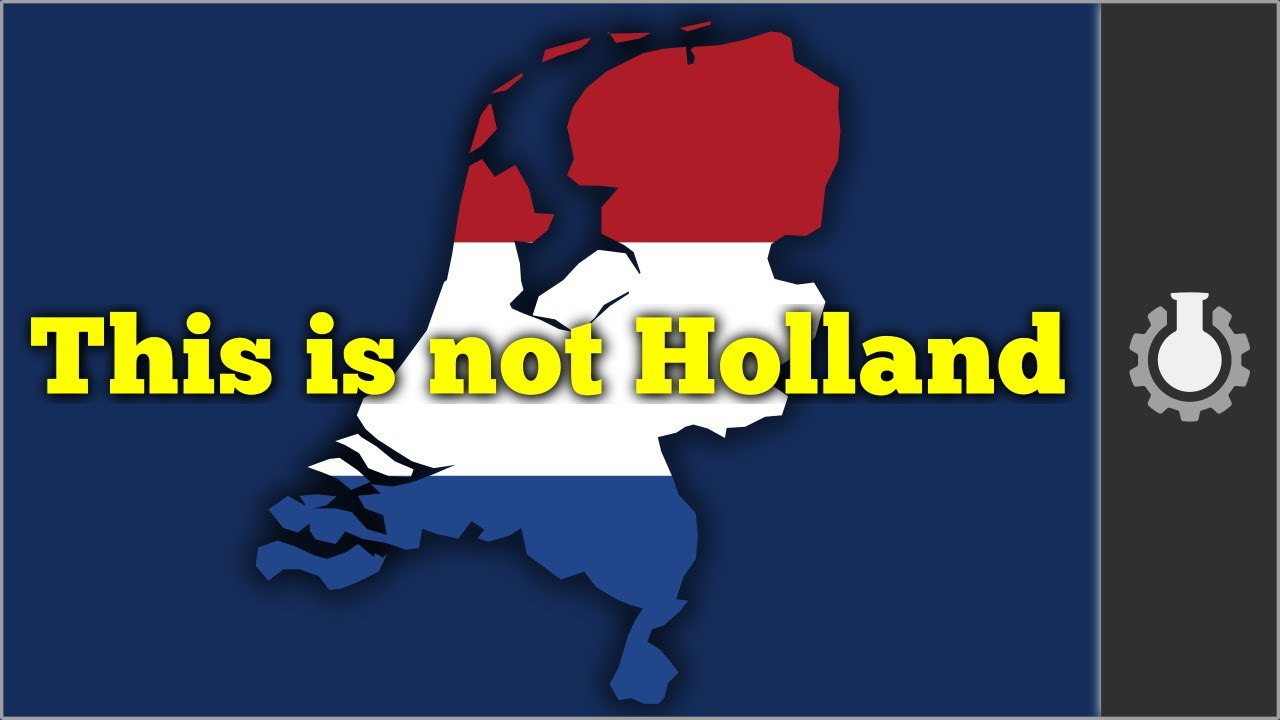 What is the difference The Netherlands and Holland are the same or not