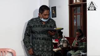 Ibadah Keluarga Era New Normal - GKJW bangelan Panthan Sumberdem - Kel. Sumberingin Rabu/16-09-2020