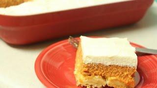 Pumpkin Crunch /  Dump Cake With Cream Cheese Frosting