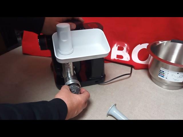 Bosch MUM4, MUM5, MUMS2  húsdaráló rá szerelhető kolbásztöltö 00753386