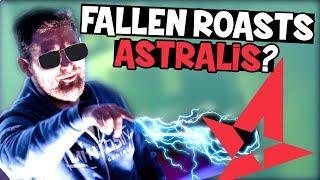 Fallen Roasts Astralis?! (CS:GO Funny Moments Eleague Major Boston 2018)