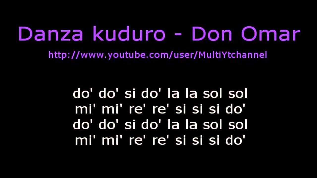 letra de las canciones de don omar king of: