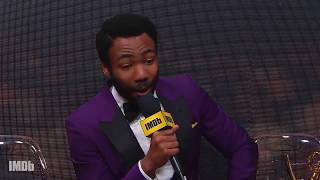 Donald Glover on Winning Two Emmys | EMMYS 2017