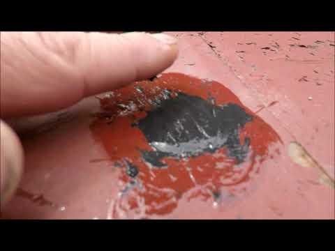 Diy patch in tin roof Tern metal roof repair