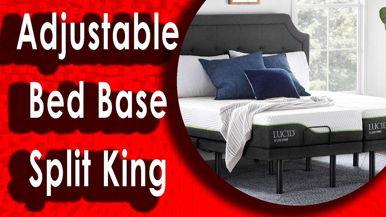 Best Adjustable Beds 2020.Best Lucid L300 Adjustable Bed Base Split King 2020