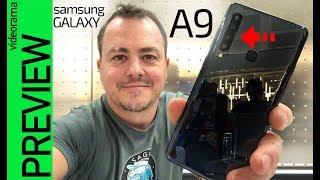 Samsung Galaxy A9 primeras impresiones -MEGA RECORD de cámaras-