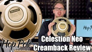 Celestion Neo Creamback Review - 60W Vintage tone - light as a feather!