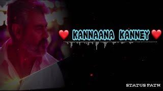 Kannaana kanney song - whatsapp status | Viswasam |Sid sriram | D Imman | statua path |