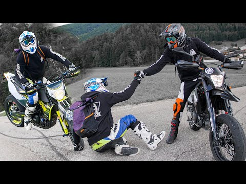 EXPLORING WITH THE SUPERMOTO FT ROK BAGOROS (ITALY 2020) - SUPERMOTO ITALY 2020