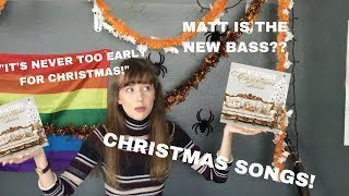 REACTING TO THE PTX DELUXE CHRISTMAS ALBUM