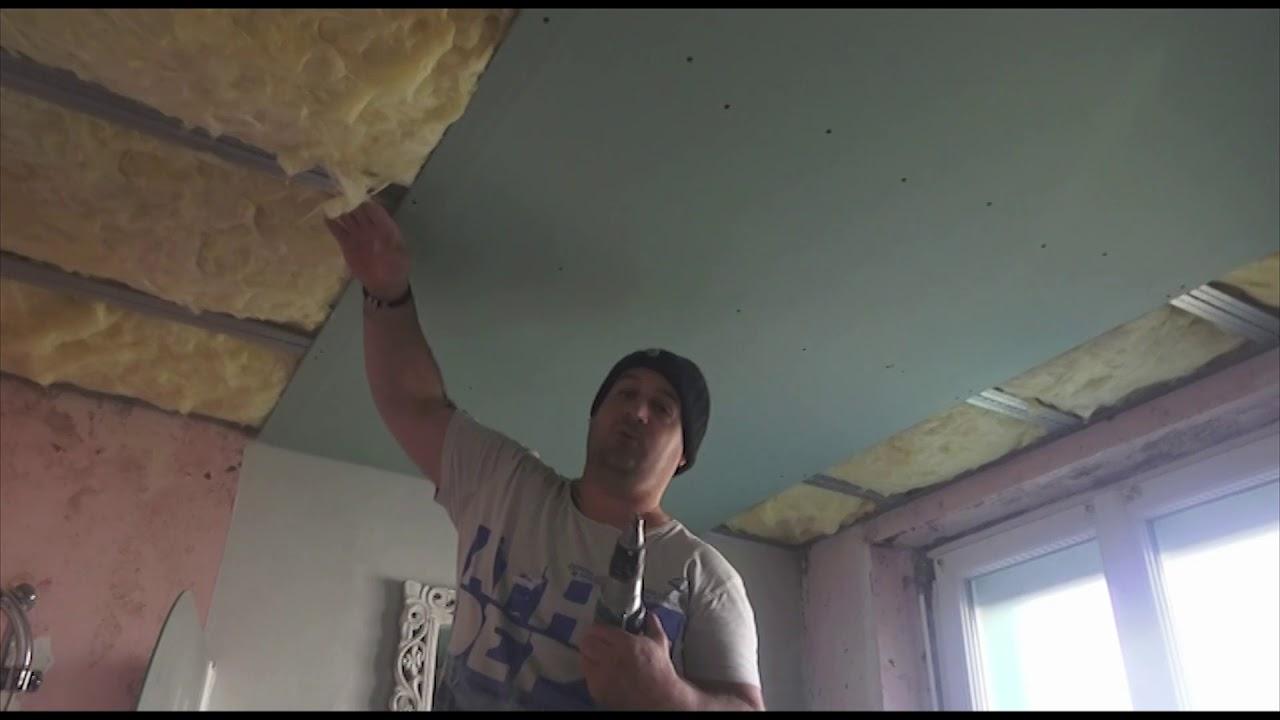 Plafond Autoportant Répartition Des Vis Optimisation Youtube