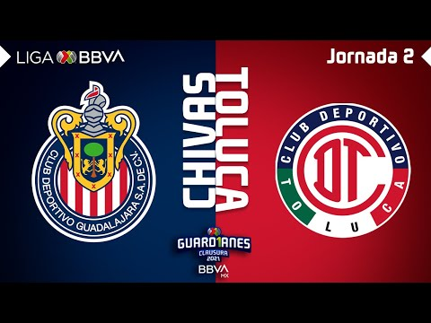 Guadalajara Chivas Toluca Goals And Highlights