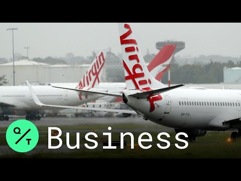 Virgin Australia Collapses as Virus Wipes Out Global Air Tra