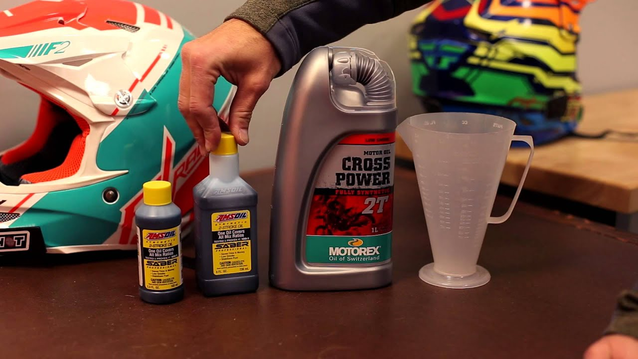 What 2 stroke pre mix oil do i use youtube What do i do with used motor oil