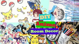 DIY Anime Room Decor How To Make Anime Room Decor