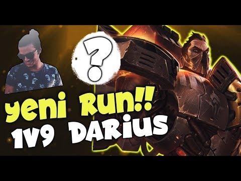 DARİUS BUFF ALDI 1v9 ATIYOR / 20+ KİLL