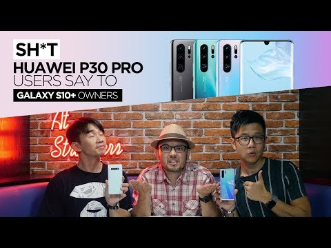 Sh*t Huawei P30 Pro Users Say to Galaxay S10+ Owners   TricycleTV