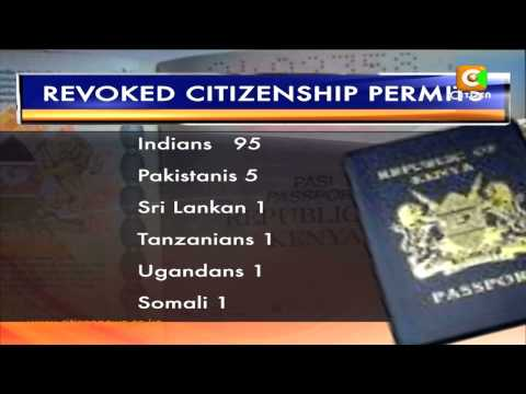 Govt Cancels 104 Citizen Permits