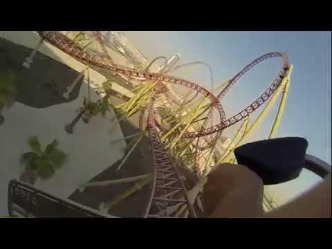 Velociraptor Rollercoaster - IMG World, Dubai