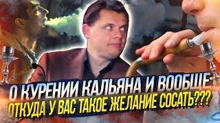 Евгений Понасенков о курении кальяна и вообще: откуда у вас такое желание сосать???