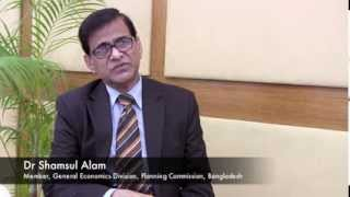 Dr. Shamsul Alam - how will the government increase agricultural productivity in Bangladesh?