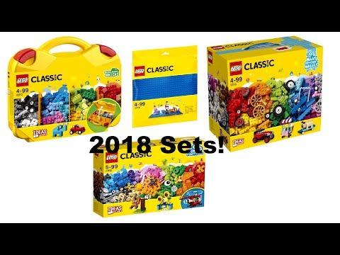 LEGO Classic 10703 & 10705 Creative Builder Box