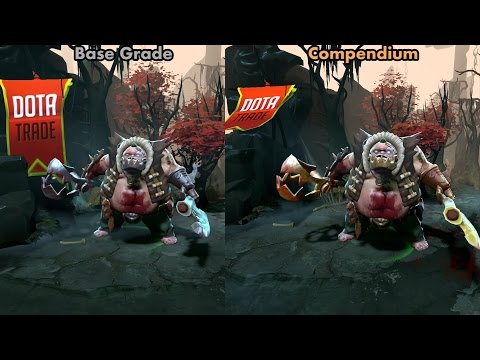Compendium Bindings of the Trapper Pudge set preview Dota 2