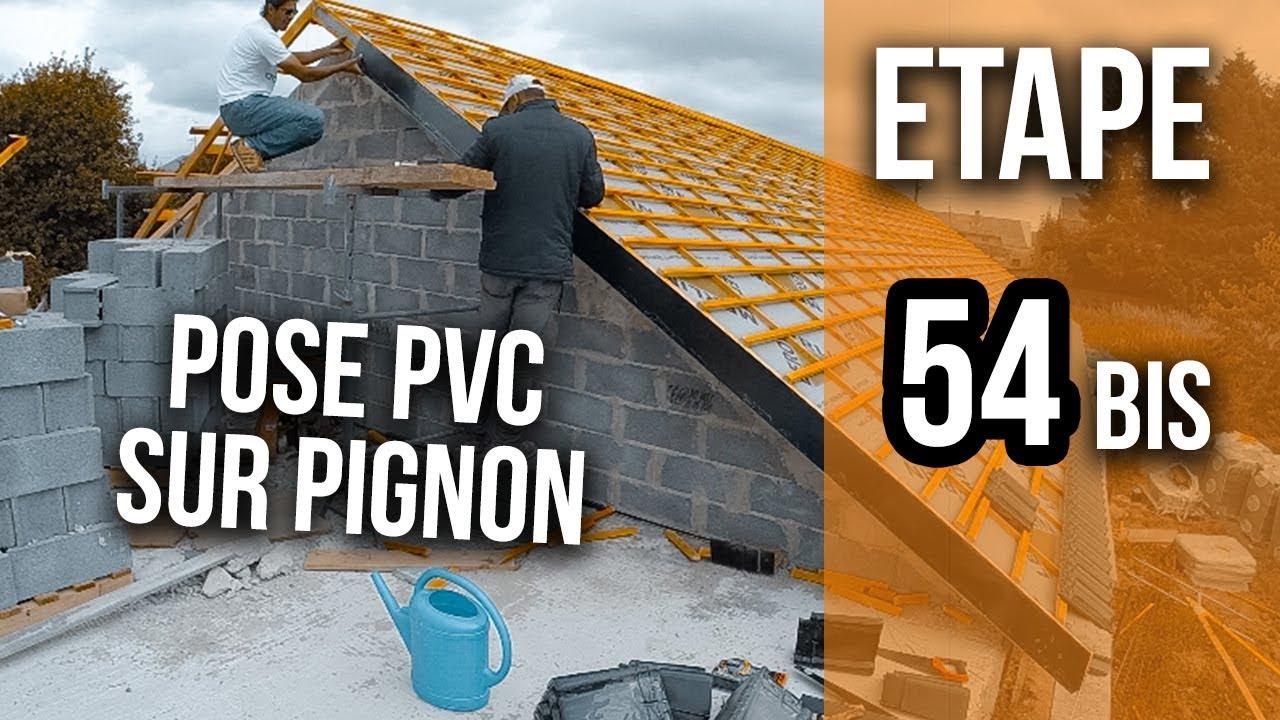 prix de gros offre coût modéré Pignon : Poser une planche de rive en PVC - Etape 54 BIS