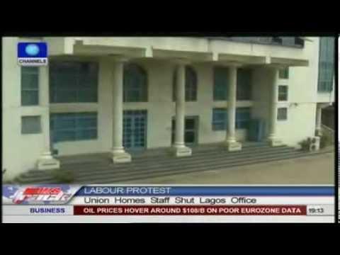 Union Homes Staff Shut Lagos Office