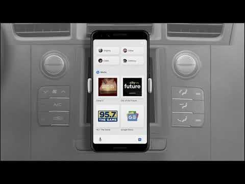 Driving Mode Des Google Assistant